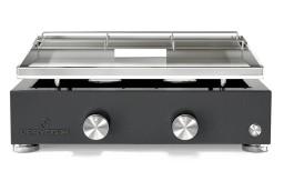 Plancha grill Simplicity 2 branders met roestvrijstalen bakplaat