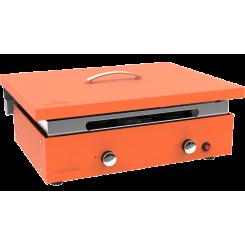 Couvercle de protection pour plancha orange 3