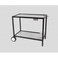 Table en métal pour plancha avec plateau inox ☀ Verycook